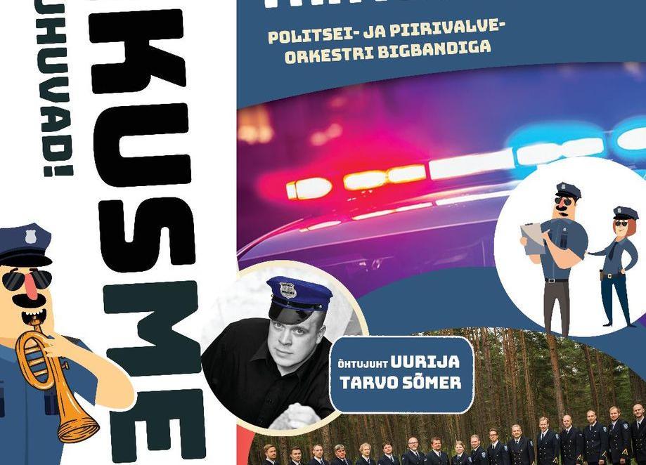 TANTSUÕHTU Politsei- ja Piirivalveorkestri Bigbandiga - Kultuurikeskus
