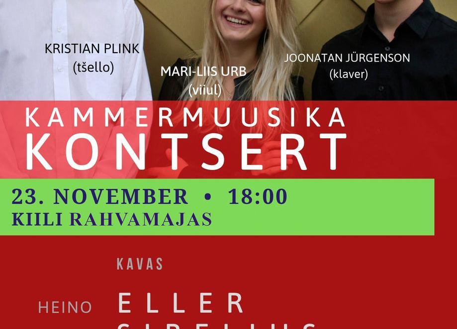 Kammermuusika kontsert - Kiili Rahvamaja