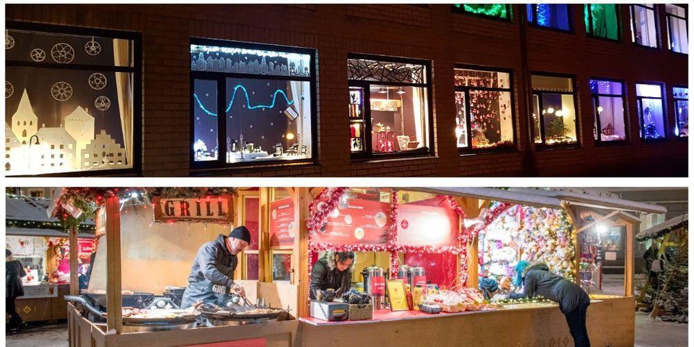 Väätsa vaateakende ja jõuluturu avamine - Väätsa Rahvamaja