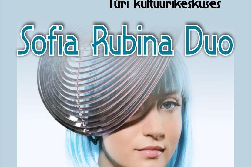 Jazz.ee ja Türi Jazziklubi LIVE   Sofia Rubina Duo- Lükkub edasi!! - Türi Kultuurikeskus