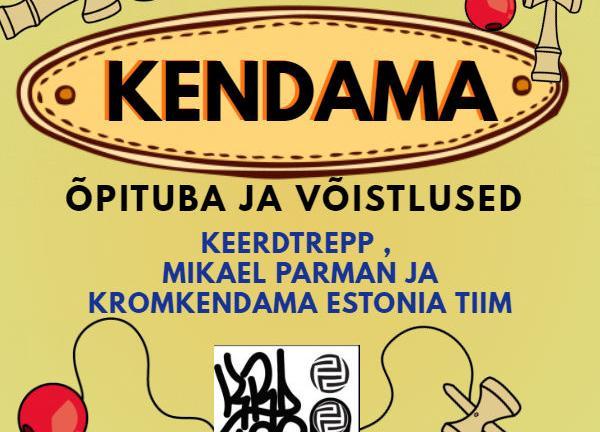 Keerdrepp, Mikael Parman ja Kromkendama Estonia tiim esitlevad: Kendama õpituba ja võistlused - Kose Kultuurikeskus
