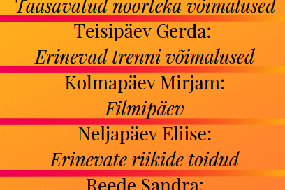 Gerda instagrami päev - Saku Valla Noortekeskus