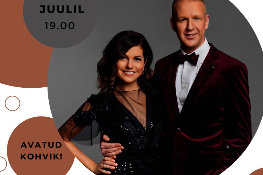 SUMEDA SUVEÕHTU KONTSERT: Birgit Sarrap & Mihkel Mattisen - Kose Kultuurikeskus