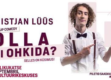 Kristjan Lüüs wake-up comedy ''Olla Või Ohkida?'' 4.publikukatse - Rae Kultuurikeskus