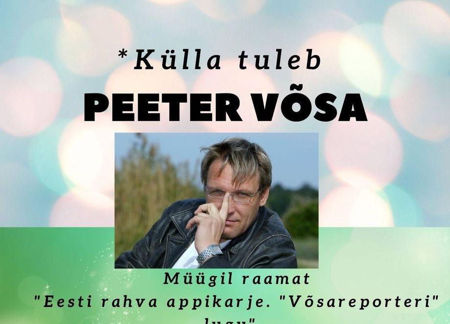 Peeter Võsa vestlusõhtu Taikse seltsimajas - Taikse rahvamaja