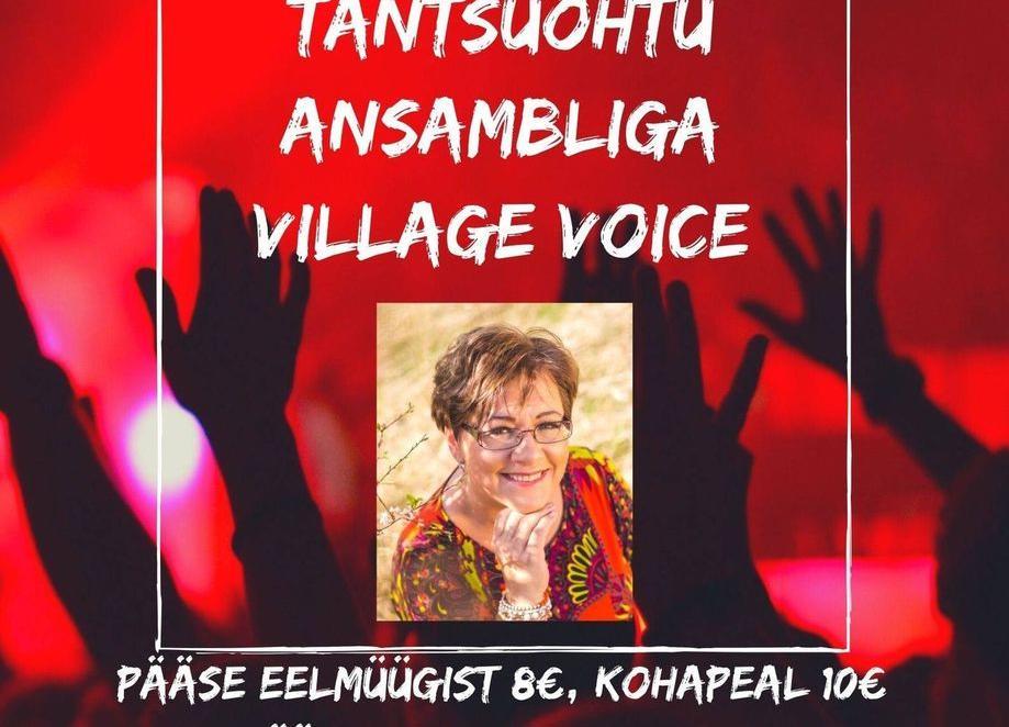 Tantsuõhtu Taikses ansambliga Village Voice - Taikse rahvamaja