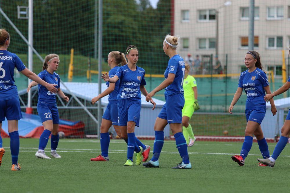 JK Tabasalu NAISKOND vs JK Tallinna Kalev II (N) - Tabasalu Arena