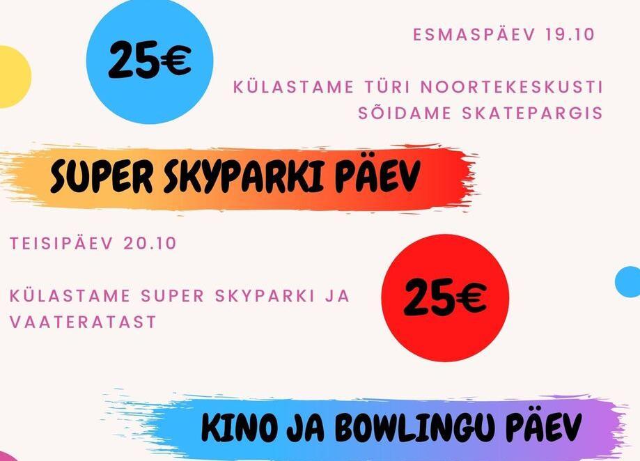 Väljasõit Super Skyparki - Saku Valla Noortekeskus