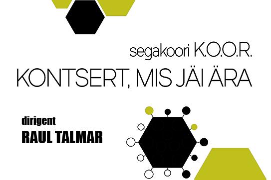 Segakoor K.O.O.R. kontsert - SAKU SAAL
