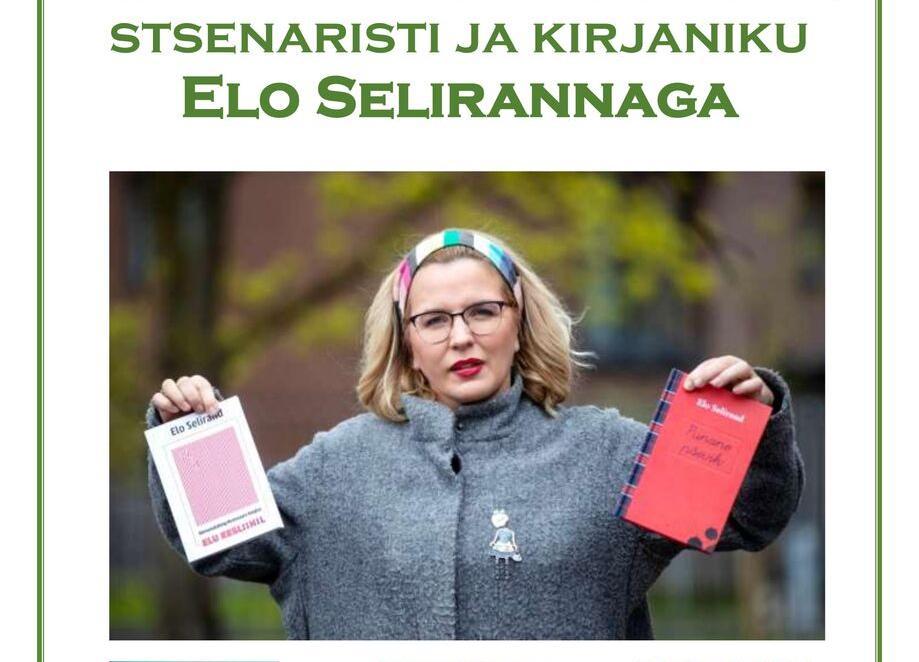 Külla tuleb Elo Selirand - Habaja Raamatukogu