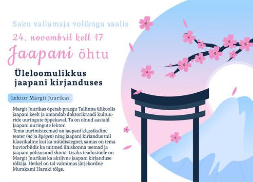Jaapani õhtu - Saku Vallamaja