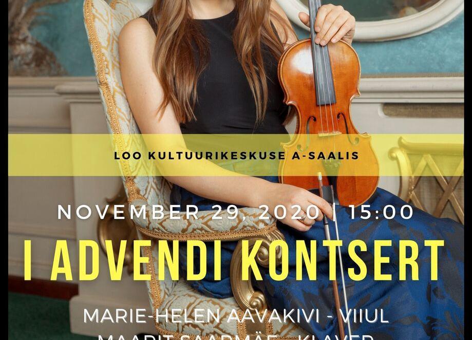I ADVENDI KONTSERT - Loo Kultuurikeskus