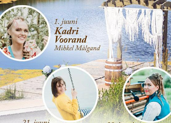 Õnneleidmise laulud Mari Jürjens  - Küla Villa - puhkekeskus