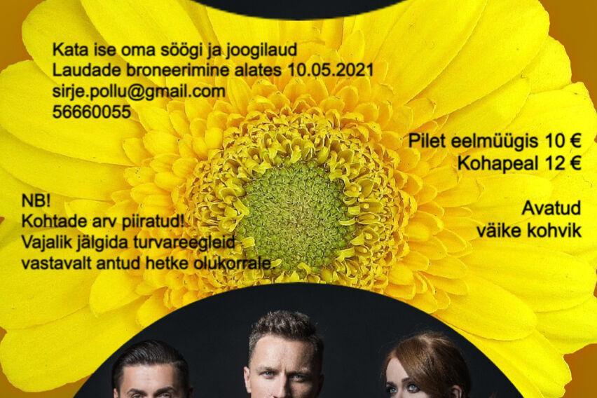 TANTSUGA SUVEAEGA KELLAAJA MUUDATUS. ALGUS KELL 19.00 NB! KUNA VÄLIÜRITUSE KELLAAJA PIIRANGUT 11.06 VEEL EI LEEVENDATUD, SIIS SISSEPÄÄS ÜRITUSELE TOIMUB KELL 19.00 VABANDAME  EBAMUGAVUSTEPÄRAST. - Neeme Rahvamaja