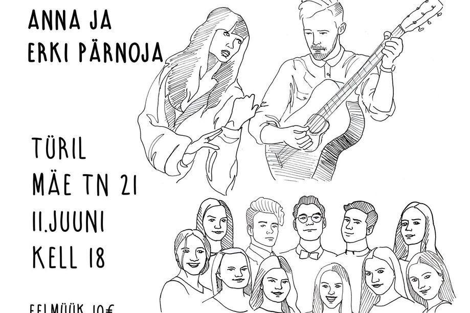 Koduaia Kontsert- ansambel KULTRA ning Anna ja Erki Pärnoja - Türi Kultuurikeskus