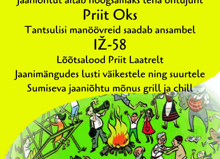 Kostivere jaanituli - Kostivere külaplats