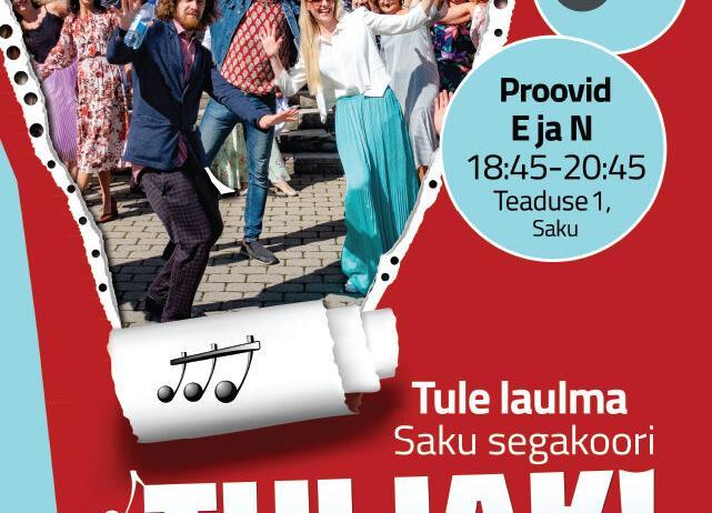 Tuljakusse laulma! - Saku Valla Kultuurikeskus