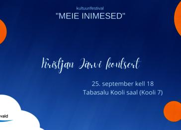 Kristjan Järvi kontsert - Tabasalu Kool