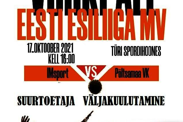 Võrkpalli esiliiga MV - Konesko Türi Spordihoone